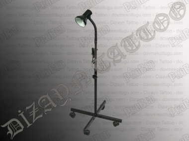 4-Legged Floor Lamp, Tattoo Lamp Tattoo (Black)