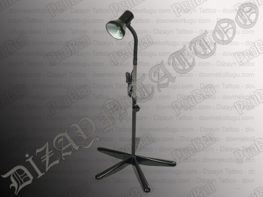 5-Legged Floor Lamp, Tattoo Lamp Tattoo (Black)