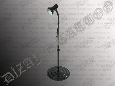 Table Floor Lamp, Tattoo Lamp Tattoo (Black)