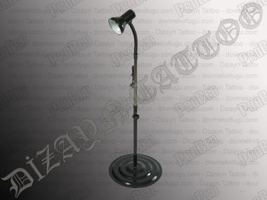Tisch-Stehlampe, Tattoo Lampe Tattoo (Schwarz)