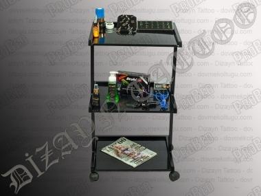 3-stöckig und setup der Geräte-Transport-Tabelle