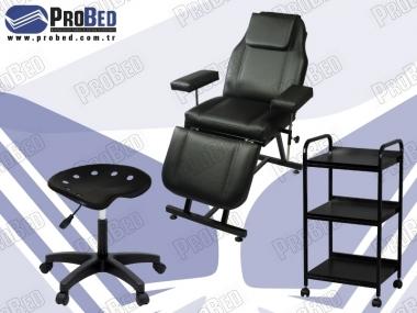 pedikür koltuğu, setup çalışma sehpası, doktor taburesi