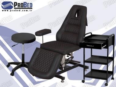 piercing koltuğu, dövmeci taburesi, dövmeci setup sehpası