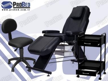 dövmeci koltuğu, dövmeci sandalyesi, dövme setup sehpası