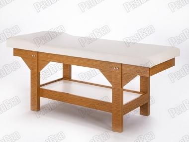 wood massage bed