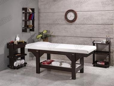 wood hacamite bed