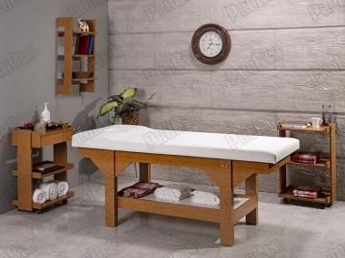 ahşap masaj yatağı