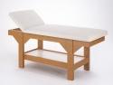 Sırt Hareketli Lüks Ahşap Bakım Masası - Bambu