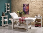 Ahşap Spa Yatağı, masaj masası, masaj yatağı, ağda sedyesi, ağda yatakları