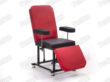 Back and Foot Part Moving Seat (Red-Black)