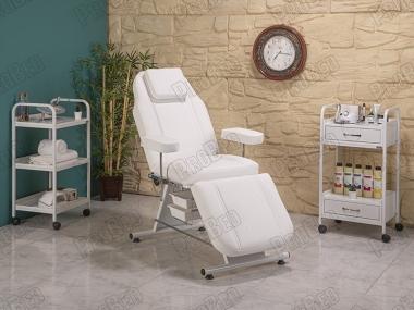 ProBed-3010 Rückenlehne und Fußstütze beweglichen Sitz Teil (Kunststoff mit Badewanne)