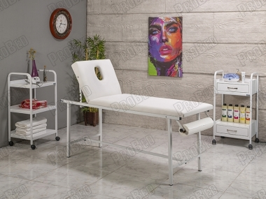Examination Table With Folding Legs