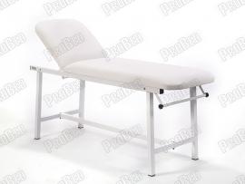 Oval Katlanır Ayaklı Bakım Masası   Beyaz - Havluluk Aparatlı