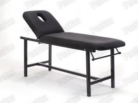 Oval Katlanır Bakım ve Masaj Masası   Siyah - Havluluk Aparatlı