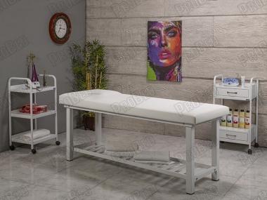 Elit Ekstra Sağlam Bakım ve Masaj Masası | Beyaz