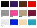 Sırt Hareketli Ahşap Spa Yatakları Renk Kartelası
