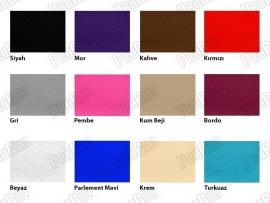 Ahşap Bakım Yatağı Renk Kartelası