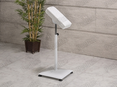 Bench With Armrest - Round Foot Hair