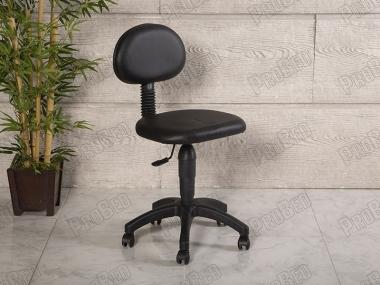 Amortisörlü Çalışma Sandalyesi | Siyah - Plastik Ayak