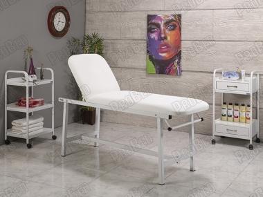 Hazır Kalıcı Makyaj Sedye Seti, Cihaz Sehpası, Sandalye, Ucuz Muayane Masası Seti