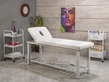 Hazır Cilt Bakım Ürünleri, Sedye (Delikli), Cihaz Sehpası, Sandalye, Masaj Sedyeleri