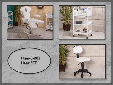 Hazır Setler | Hisar-3-B02 | Hareketli Koltuk, Cihaz Sehpası, Sandalye