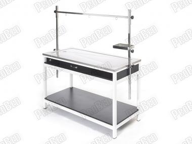 Çekmeceli Veteriner Ameliyat Masası, Ahşap Veteriner Masası, 304 Kalite Paslanmaz Veteriner Masası