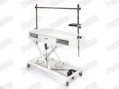 Tasma Aparatlı Veteriner Röntgen Masası, Tekerlekli veteriner Masası, Frenli Tekerli Veteriner Masası