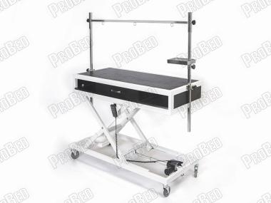 Veteriner Tımar Masası, Veteriner Çekmeceli Motorlu Pet Bakım Masası, Tekerlekli Pet Kuaför Masası