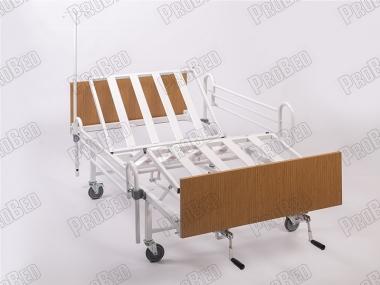 Baş Ve Ayak Kısmı Hareketli Hasta Karyolası, Karyola Üretici, Serum Askılıklı Felçli Hasta Yatağı