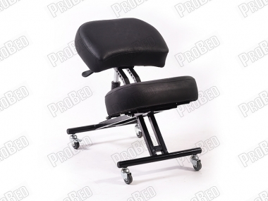 Depreciated Upright Posture Chair   Black