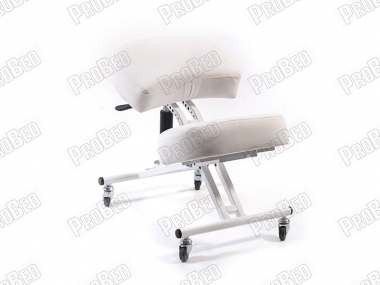 Depreciated Upright Posture Chair   White