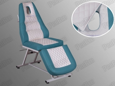 Seats, backrest and footrest movable portion