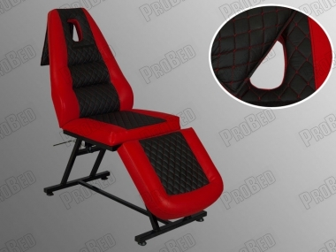 Sitze, Rückenlehne und Fußstütze beweglichen Teil