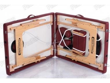 Restpro Classic 2 Bordo Taşınabilir Çanta Tipi Masaj Masası