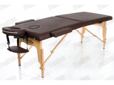 Restpro Classic 2 Kahverengi Taşınabilir Çanta Tipi Masaj Masası