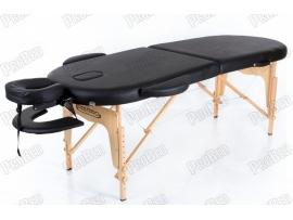 Restpro Classic Oval 2 Siyah Taşınabilir Çanta Tipi Masaj Masası