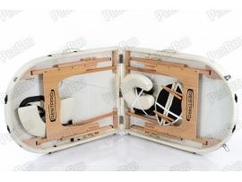 Restpro Classic Oval 2 Krem Taşınabilir Çanta Tipi Masaj Masası