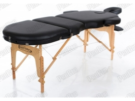 Restpro Vip Oval 3 Siyah Taşınabilir Çanta Tipi Masaj Masası