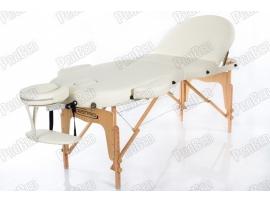 Restpro Vip Oval 3 Krem Taşınabilir Çanta Tipi Masaj Masası