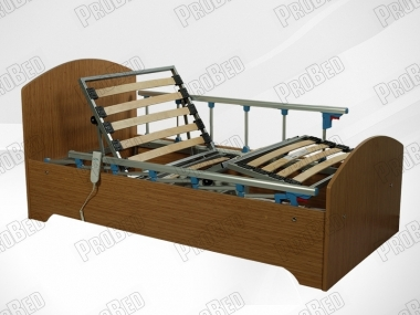 Samir Wood cot and mattress of the electric motor 2 moving Systems