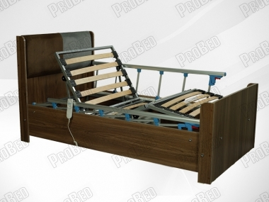 Real wood cot and mattress of the electric motor 2 of the moving Systems