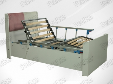 Sahara Wood cot and mattress of the electric motor 2 moving Systems