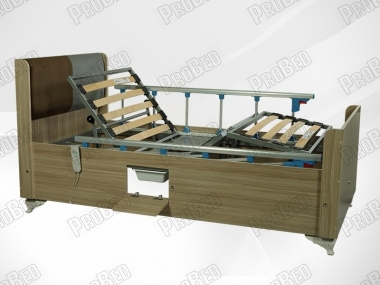 Cot and mattress Almira 2; stool-equipped electric motor Systems