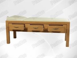 Hautpflege-Holz-Betten Schubladen-Design