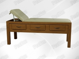 Skin Care Wooden Beds Drawers Design