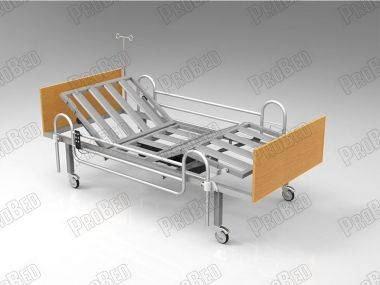 Electric Motor Pontoon Railing Wood Cot With 2 Titled Moving Systems