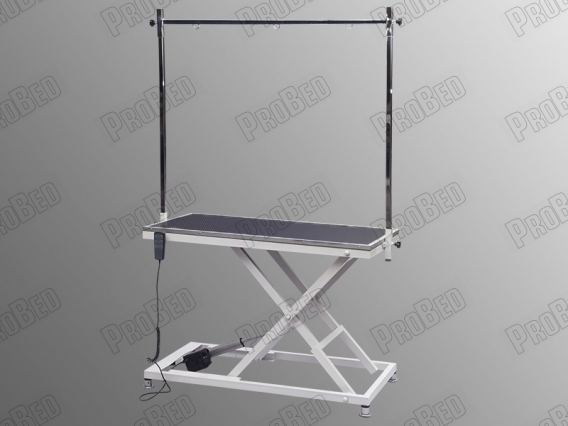 Veterinary care and examination table electric motor