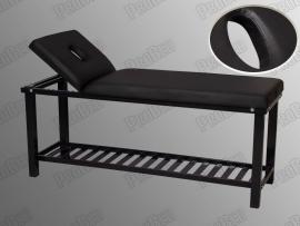 Dizayn Bakım ve Masaj Masası - Sırt Kısmı Hareketli - Siyah