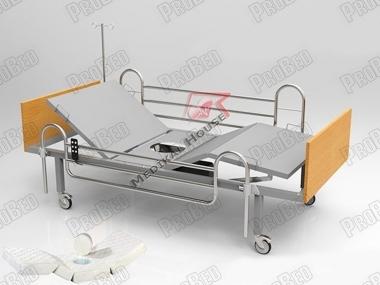 Lazimlikli подвижный каркас кровати и матрас (Перфорированный матрас в комплекте)